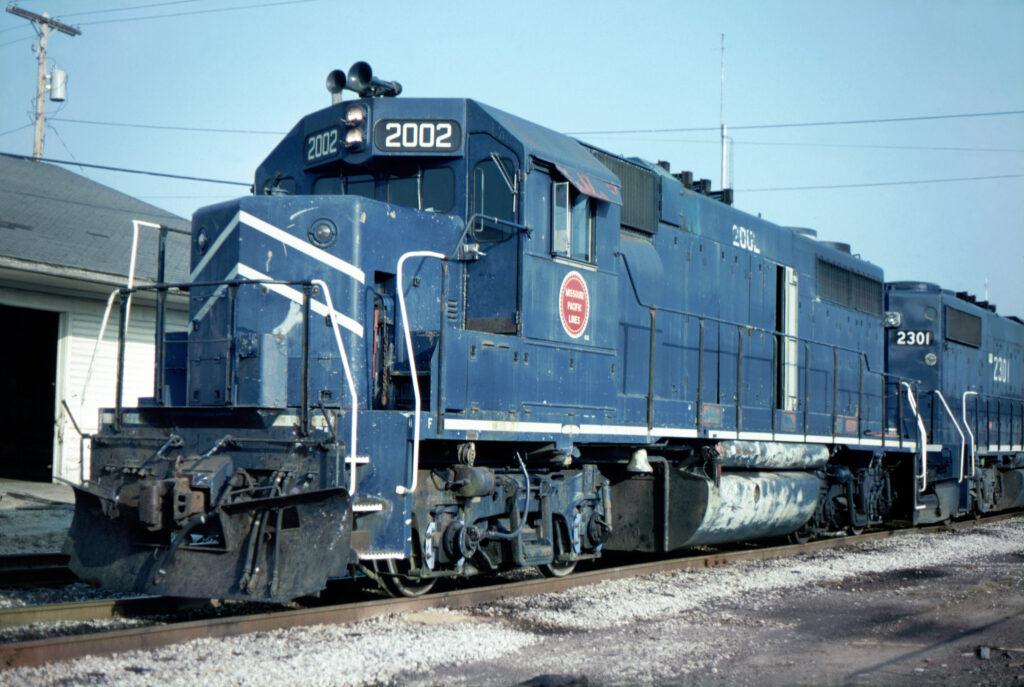 Rare GP38 at WF